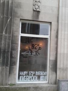 Phil cafe window