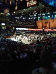 View from my seat, hastily taken on a shaky camera-phone!