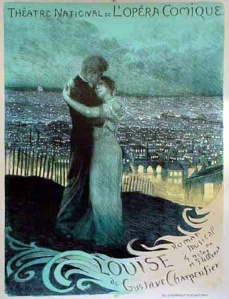 Louise: poster for the original 1900 production.