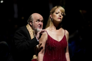 Salome - BSO - Kim Begley (left), Lise Lindstrom (right), photo Kevin Clifford copyright BSO